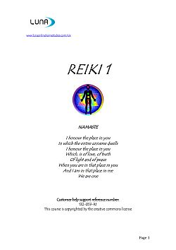 learn reiki