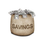 savings in a basket