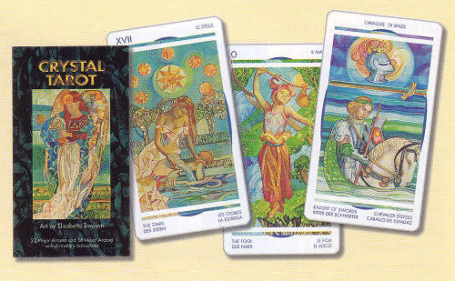 working as a tarot reader