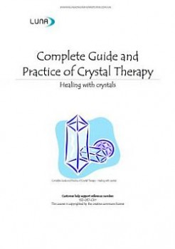Learn to heal using crystals with - crystal therapy diploma course