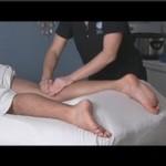 hotstonemassage leg