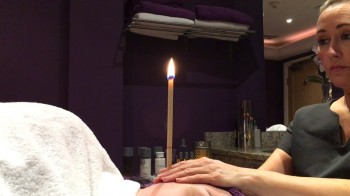 hopi ear candling consultation  and case study