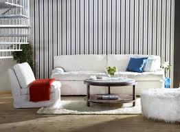 white settee and round table